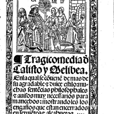 Cover of the Burgos edition, 1536.