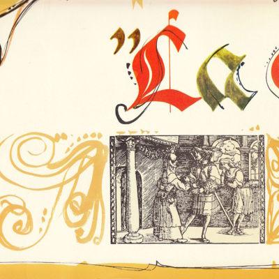 Book of photochromes from the movieLa Celestina, by Ardavín (antecedents)