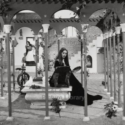 Photochrome 16 from the movie La Celestina, by Ardavín