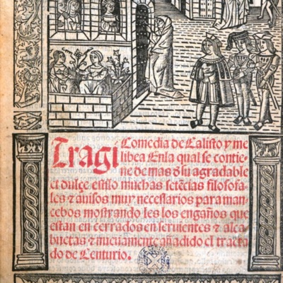 Cover of the Barcelona edition, 1525.