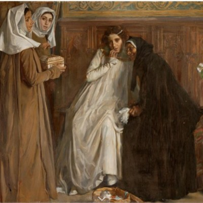 Old Celestina, by Alberti i Barceló (1908)