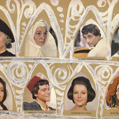 Characters from the movieLa Celestina, by Ardavín