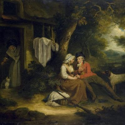 Deportista enamorado, de Smith (1790 c.)