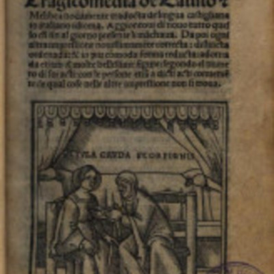 Cover of the Venice edition, 1519.