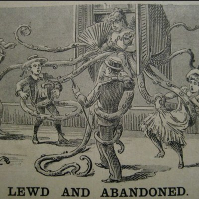 Lewd and abandoned, 1890