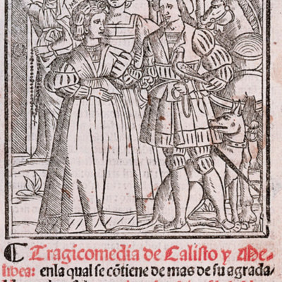 Cover of the Seville edition, 1523.