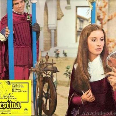 Photochrome 7 from the movieLa Celestina,by Ardavín
