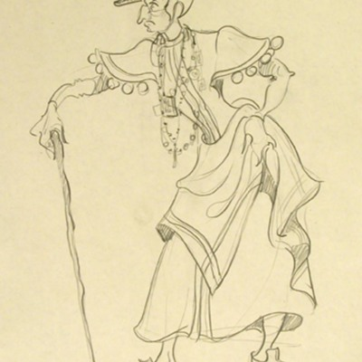 Design of a Celestina, by Richart (1980 c.)