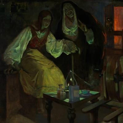 Witchcraft, by Garza y Bañuelos (1912, c.)