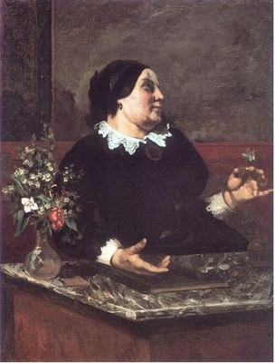 Mother Gregoire, by Courbet (1855)