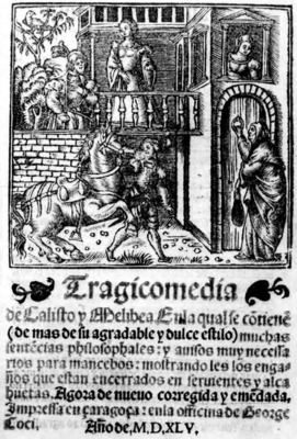 Title page from the Zaragoza edition (1545)