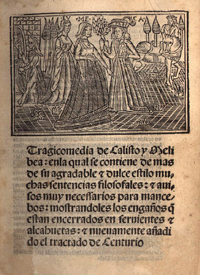 Cover of the Sevilla edition, 1513-15 (1502).