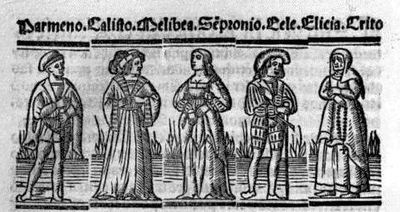 Engraving from act I of the Seville edition (1523)
