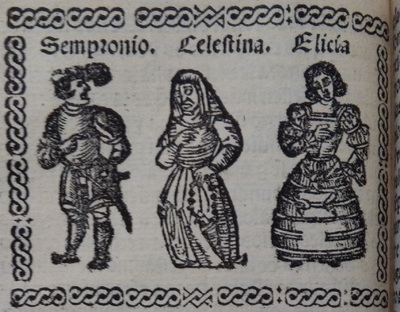 Illustration of act 3 of Medina del Campo, 1530<br /> <br />