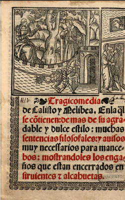 Cover of the Sevilla edition, 1536.