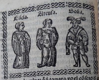Illustration of act 17 of Medina del Campo, 1530<br /> <br />