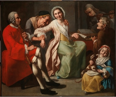El concierto, de Traversi (1750 c.)
