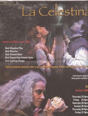 Representación del Teatro Círculo, Nueva York, 2008.