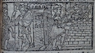 Second Illustration of act 14 of Medina del Campo, 1530<br />