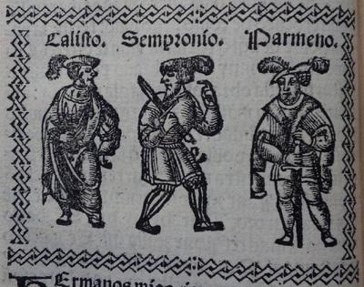 Illustration of act 2 of Medina del Campo, 1530<br /> <br />