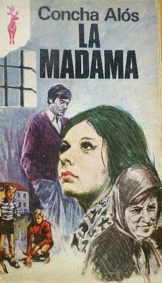 Cover of the novel The Brothel Keeper (La madama), by Concha Alós (1973)