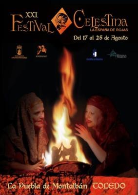 Poster of the Festival of La Celestina, Puebla de Montalbán (2019)