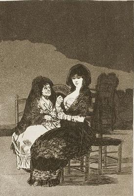 Bellos consejos, de Goya (1797)