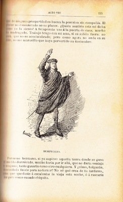 First illustration of act VIII from the Barcelona edition (1883)
