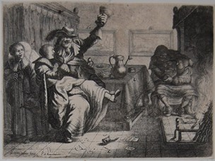 Two Amorous Couples at an Inn, de Ram and van Vilet (1633 c.)