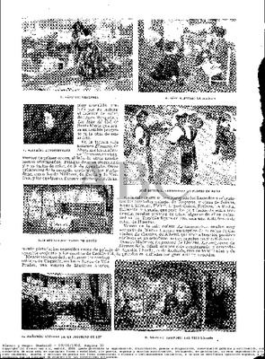 News referring to the painting La Celestina by Fernando Alberti, in Blanco y Negro (1908)