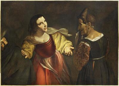 The Procuress or the Old Woman and the Gallant Young Man
