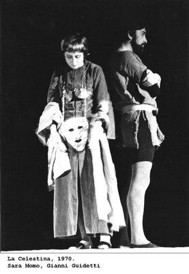 Representación del Teatro Verdi, Padova, Italia, 1970
