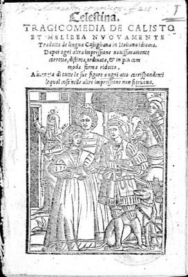 Portada de Venecia, 1541.