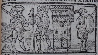 Illustration of act 19 ofMedina del Campo, 1530<br /> <br />