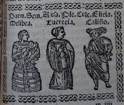 Frist Illustration of act 12 of Medina del Campo, 1530<br /> <br />