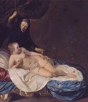 Danaë, by Van Loo (1650).