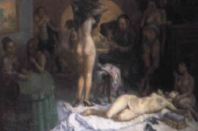 Scene in a Brothel, by Barba (1970 c.)