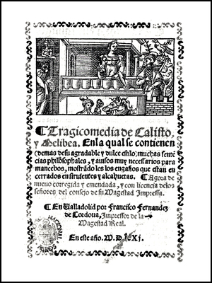Cover of the Valladolid edition, 1561.