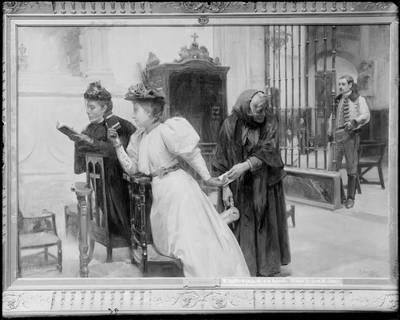 The Missive, by Santa Maria Sedano (1895)