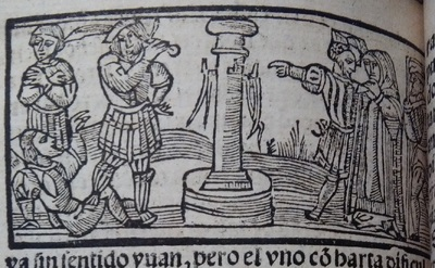Second illustration of act 13 of Medina del Campo, 1530<br />