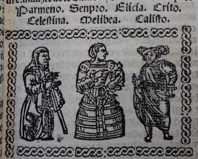 Illustration of act 1 of Medina del Campo, 1530<br /> <br />