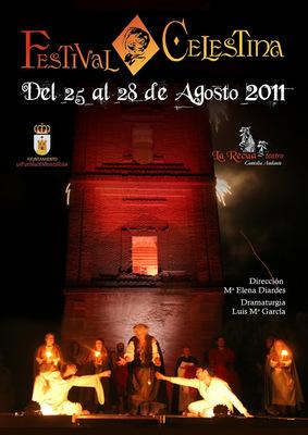Representación del Teatro bajo tierra en el Festival Celestina, la Puebla de Montalbán, 2011