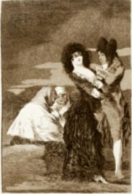 Tal para cual de Goya (1797)