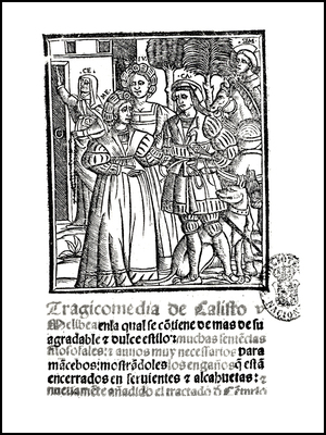 Cover of the Venecia edition, 1534.