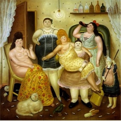 House of Mariduque, by Botero (1970)