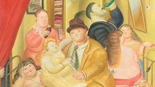 House of the Twins Arias. by Botero (1973)