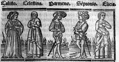 Engraving from act XI from the Seville edition (1523)