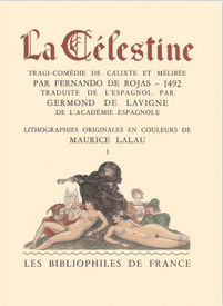 Cover of the Bibliophiles de France edition, 1949 (c.)
