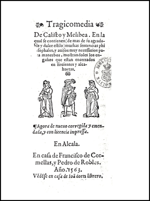 Cover of the Alcalá de Henares edition, 1563