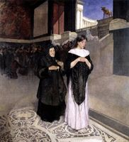 Beauty, money, mind (Belleza, dinero, mente), by Tóth (1894).